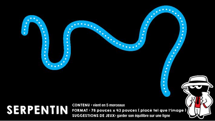 Bouger avec le Serpentin