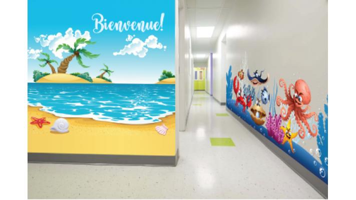 murale corridor ocean