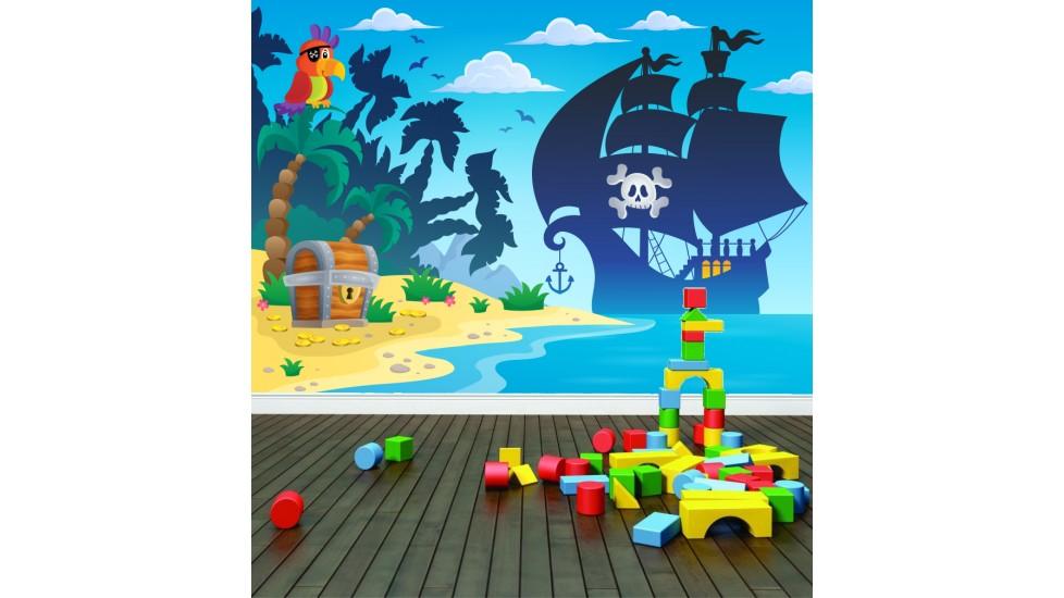 Murale 'Les Pirates'