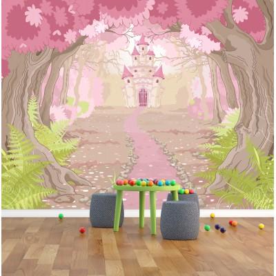 Murale 'Le chemin de la princesse'