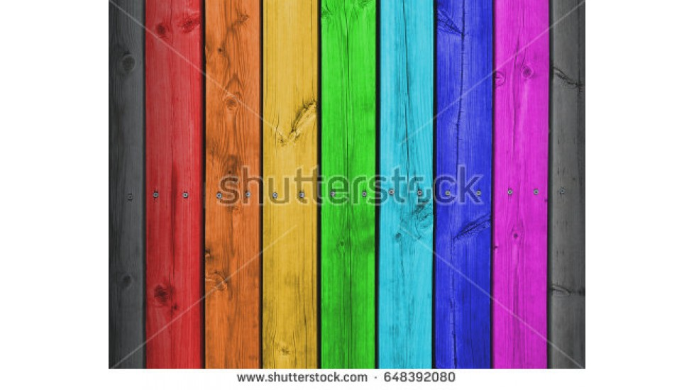 Murale de couleurs